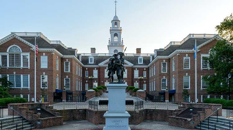 Delaware Capitol Building in daylight