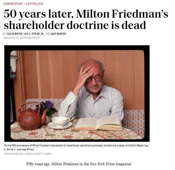 Friedman Doctrine