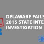 Delaware Fails State Integrity Investigation